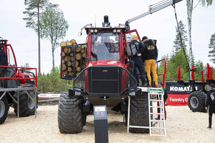 Forwarder inspection at the stand